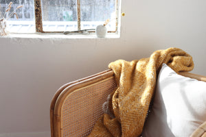 Herringbone Throw / Blush