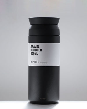 Travel Tumbler 500ml / Black / Kinto