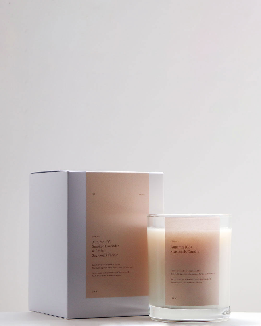 Seasonal Scented Candle / Autumn / Mark Antonia