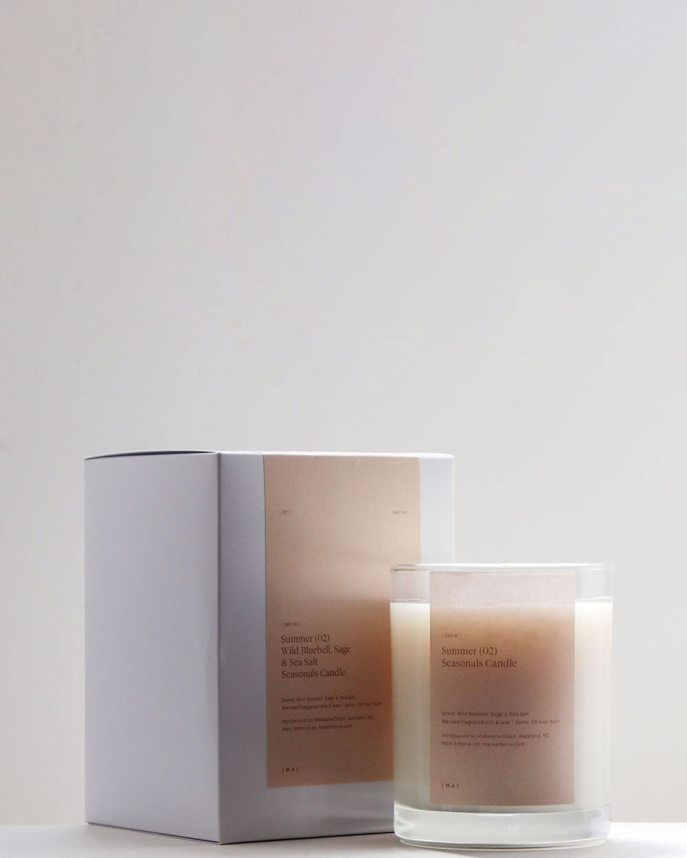 Seasonal Scented Candle / Summer / Mark Antonia