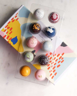10 Pc Bonbon Box / House of Chocolate