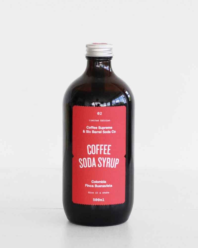 Coffee Supreme Syrup / 500ml / Six Barrel Soda