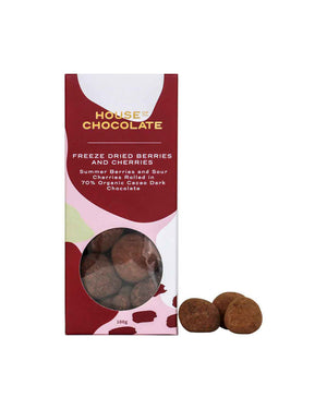 Freeze Dried Mixed Berry Dragées / House of Chocolate