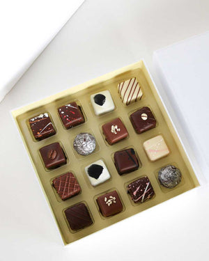 16 Pc Liqueur Truffle Box / House of Chocolate