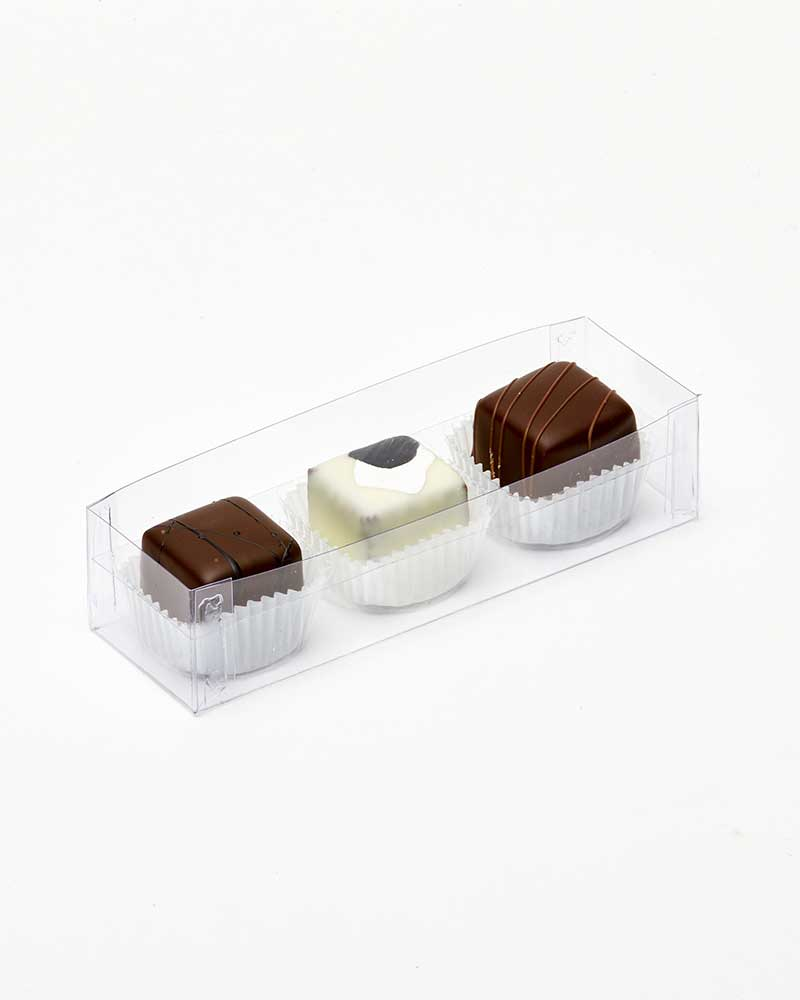3 Pc Liqueur Truffle Box / House of Chocolate