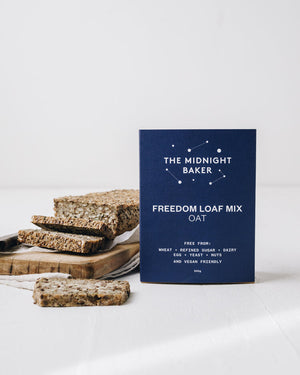 Midnight Baker | Freedom Loaf Mix | Oat