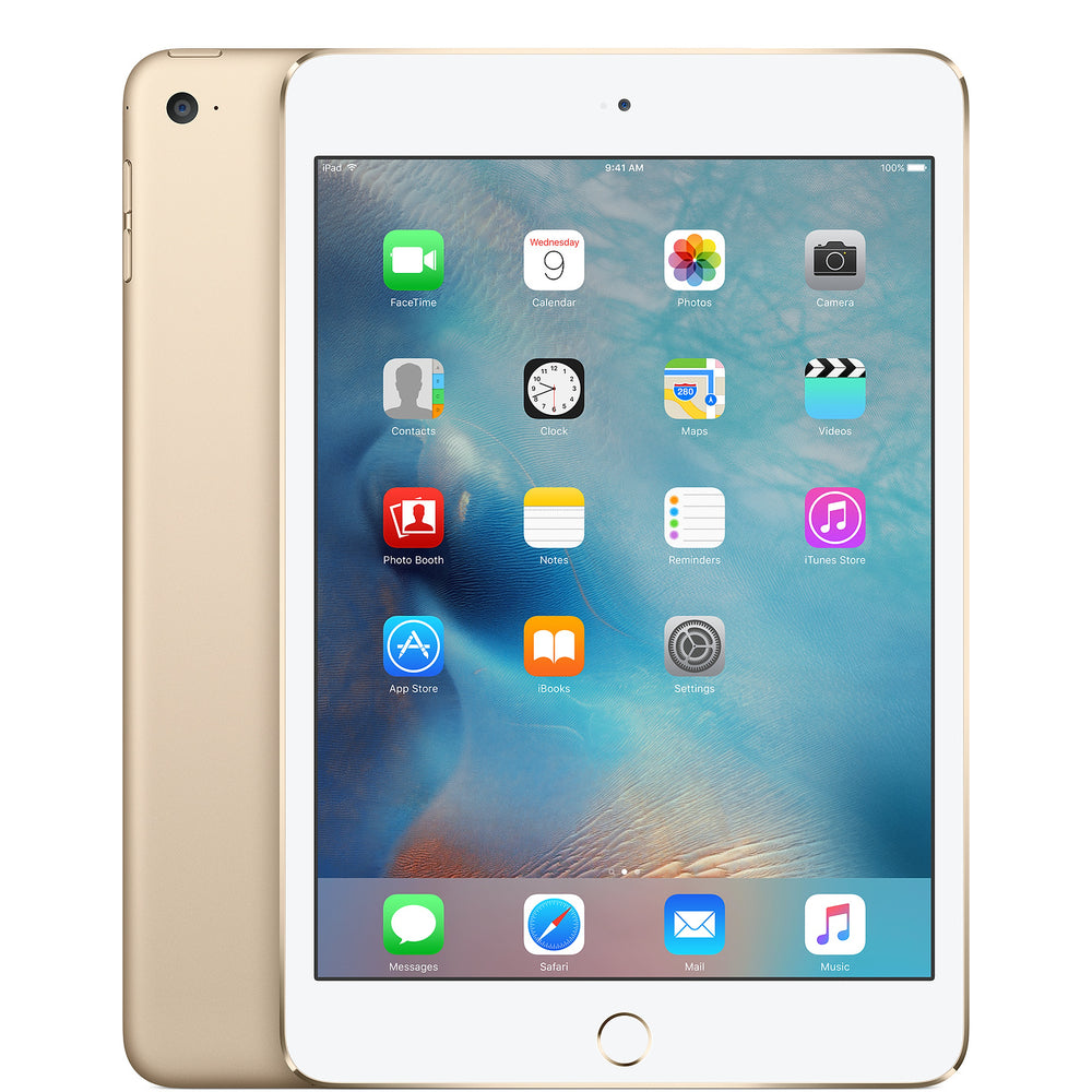 Apple iPad mini 4 (Brand New) - Gold