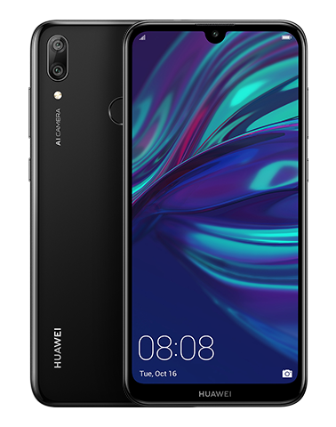 Huawei Y7 (2019) SIM Unlocked (Brand New) DUB-LX3 - Midnight Black