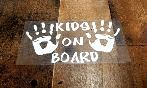 Kids on Board Decal