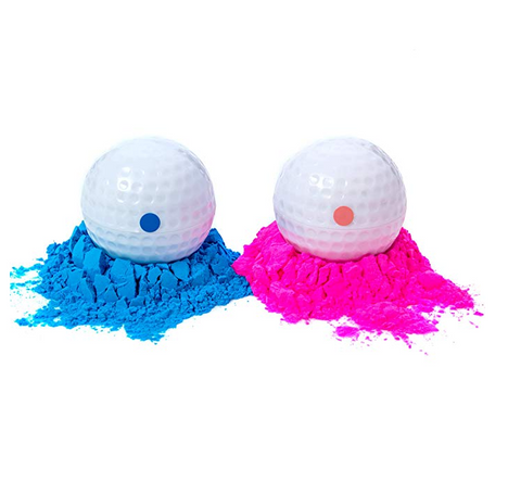 Gender Reveal Golf Balls