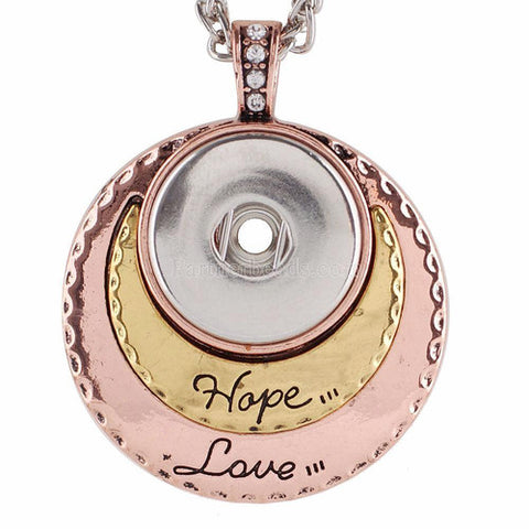 Hope Love Pendant with chain