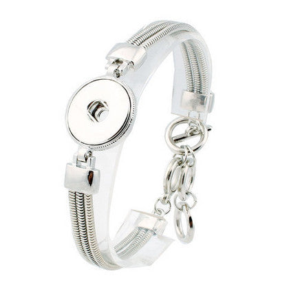 Silver Plated Adjustable Bracelet