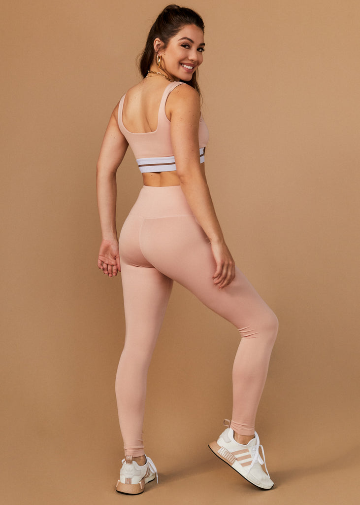 TEMESCAL CYN LEGGINGS - BLUSH