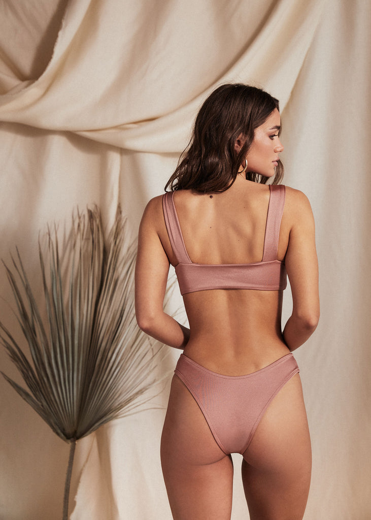 FIJI BOTTOM - NECTAR - TAN + LINES by Sivan Ayla