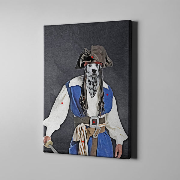 The Pirate-Custom( Your Pet) - Canvas Art- Perfect Pet Owner Gifts - Panbiii online