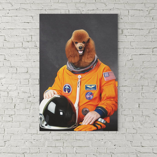 Astronaut-Custom( Your Pet) - Canvas Art- Perfect Pet Owner Gifts - Panbiii online