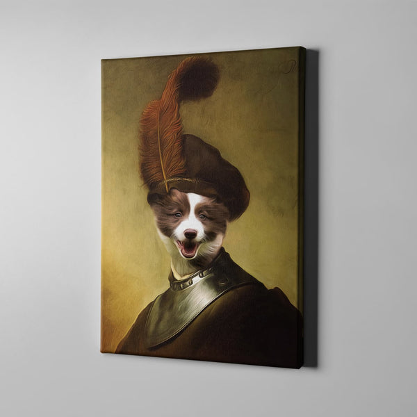 The One With Uniform-Custom( Your Pet) - Canvas Art- Perfect Pet Owner Gifts - Panbiii online