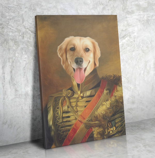 The Uniform-Custom( Your Pet) - Canvas Art- Perfect Pet Owner Gifts - Panbiii online