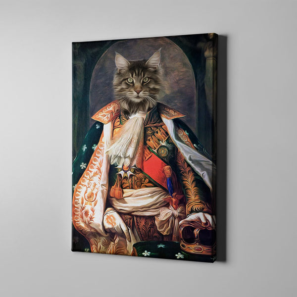 The One In Splendid Dress-Custom( Your Pet) - Canvas Art- Perfect Pet Owner Gifts - Panbiii online