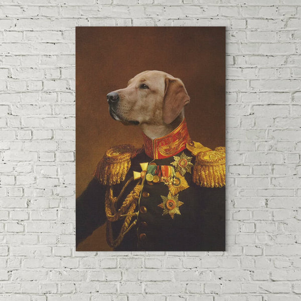 The Veteran- Custom( Your Pet) - Canvas Art- Perfect Pet Owner Gifts - Panbiii online