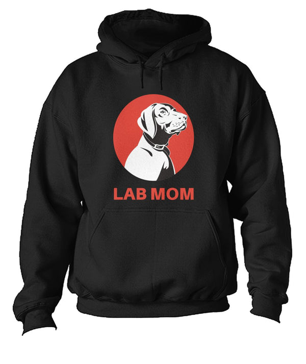 I Am A Lab Mom Unisex Hoodie- Perfect Dog Owner Gifts - Panbiii online