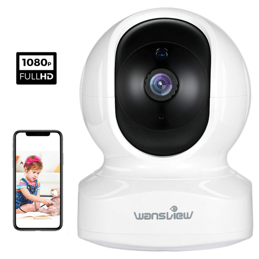 WiFi IP Camera,Wansview 1080P Wireless Home Security Camera