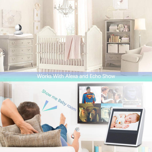 WiFi IP Camera,Wansview 1080P Wireless Home Security Camera for Baby