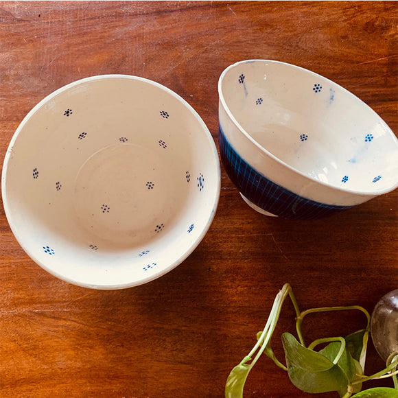 Blue Blossom Bowl Collection - Medium Single Bowl