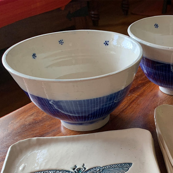 Blue Blossom Bowl Collection - Set of two