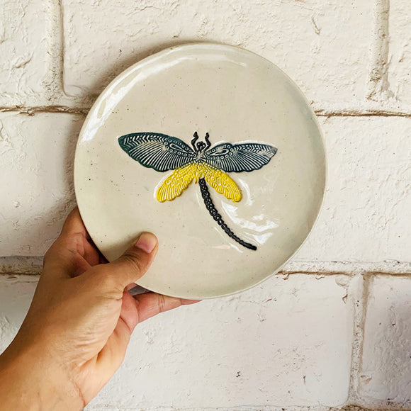 Dragon Fly Wall Plate - Medium- Single Piece