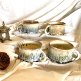 Desert Storm Fluted Cups - Set of Four (Gift Collection)