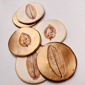 Leafy Coasters - Set of Six