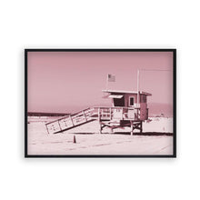 Life Guard Tower Pink Print - Blim & Blum