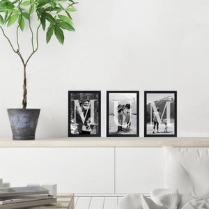 Mum Letters Photo - Set Of 3