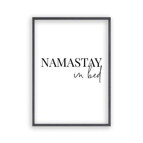 Namastay In Bed Print - Blim & Blum