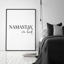 Load image into Gallery viewer, Namastay In Bed Print - Blim & Blum