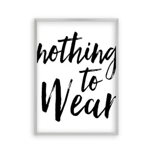 Nothing To Wear Print - Blim & Blum