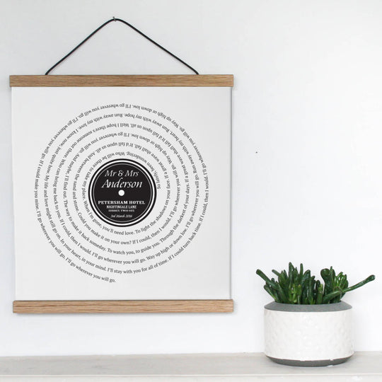vinyl record canvas