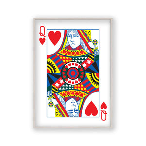 Queen Of Hearts Print