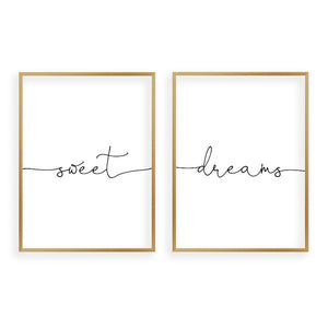 Sweet Dreams - Set Of 2 Prints - Blim & Blum