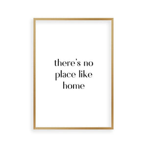There's No Place Like Home Print - Blim & Blum