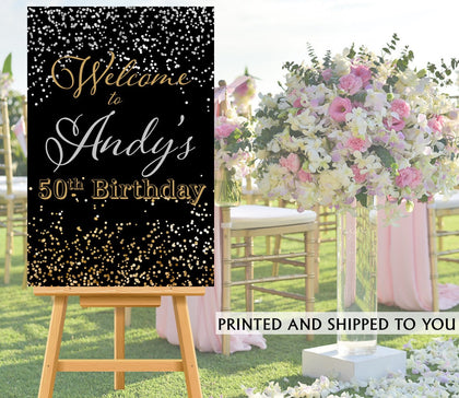 SHOP BIRTHDAY/WEDDING/EVENT WELCOME SIGNS