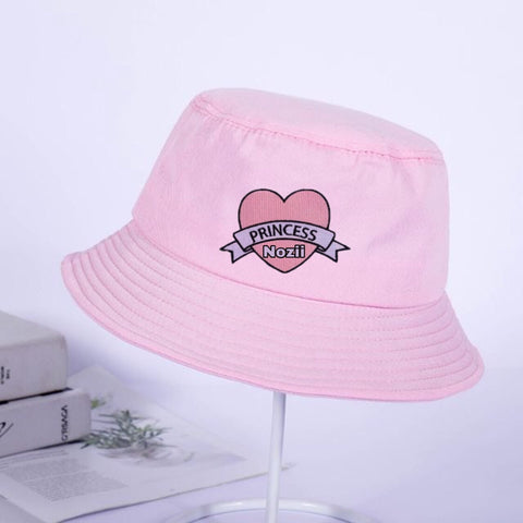 Personalised bucket hat