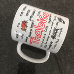 Personalised Text Mug
