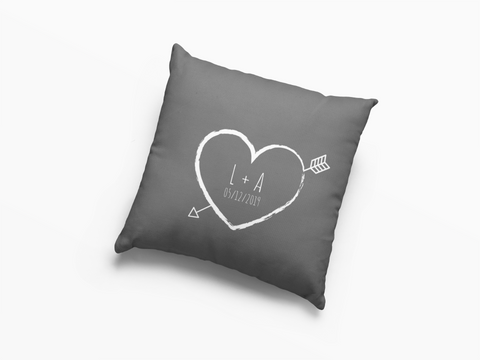 Personalised scatter cushion