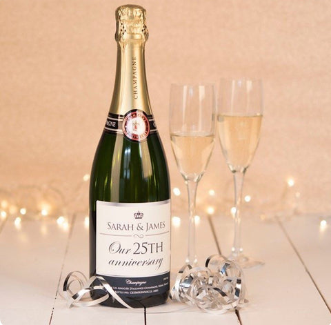 Personalised champagne - Idee Kreatives