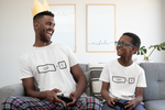Father & son ctrl t-shirts