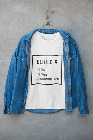 Building empire Personalised t shirt (unisex)