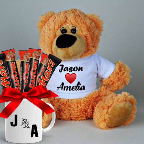 Sweet Teddy Hamper