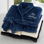 Men Personalised Fleece Gown